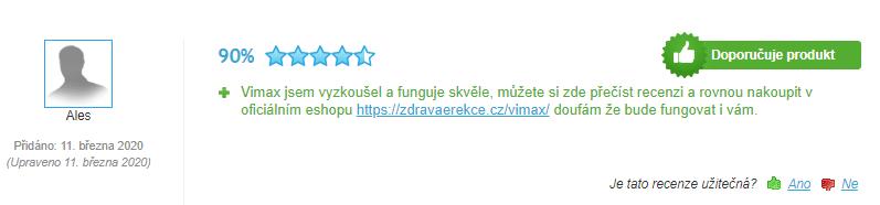 vimax recenze