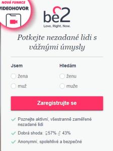 be2 seznamka recenze