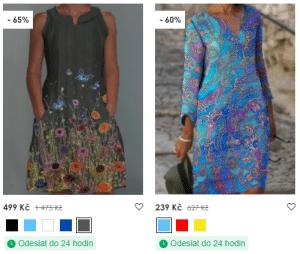 floryday šaty