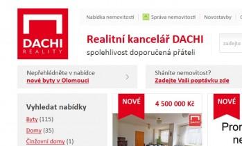 Dachi reality Olomouc