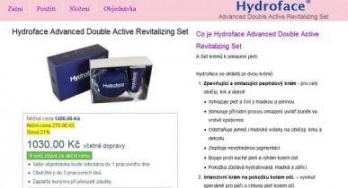 Hydroface recenze